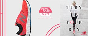FRESH FORM ZANTE CUSHIONED FOR LIGHT SPEED TURN UP YOUR RUN NB new balance